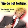 George Bush torturer