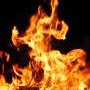 Church arson fire