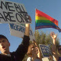 Protest against Mormon Church