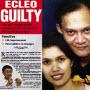 Ruben Ecleo guilty of murdering wife