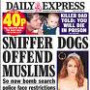 Sniffer dogs offend Muslims