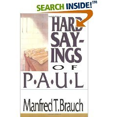 Hard Sayings of Paul