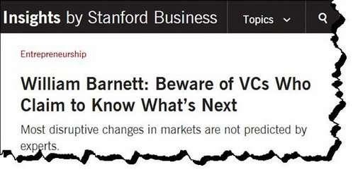 Can Venture Capitalists predicts the future?