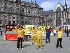 Falun Gong in Amsterdam