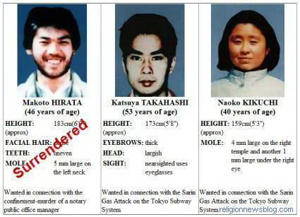 Aum Shinrikyo Most Wanted