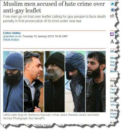 Muslim hate group