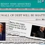 Benny Hinn Prosperity