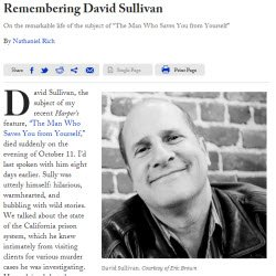David Sullivan, private investigator