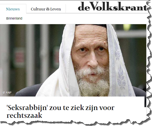 Eliezer Berland faces extradition from the Netherlands to Israel