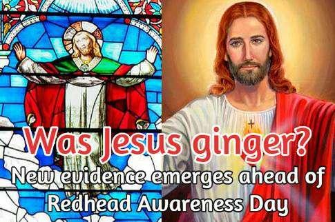 Did Jesus have red hair?