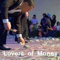 Brian Tamaki loves money