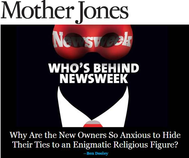 David Jang Newsweek