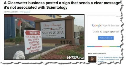 Spa not owned by a Scientologist