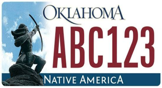New Oklahoma Car Tags
