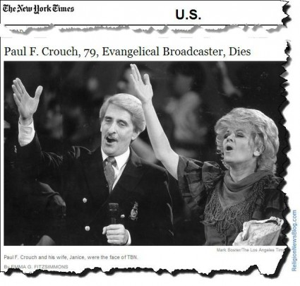Paul F. Crouch, Trinity Broadcasting Network