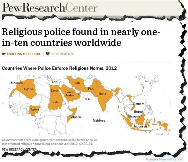 countries with religious police