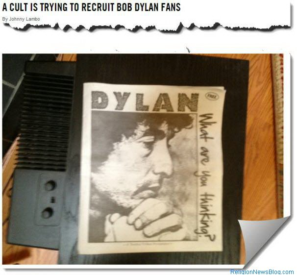 Twelve Tribes trying to recruit Bob Dylan fans